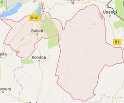 Manyara Google Map